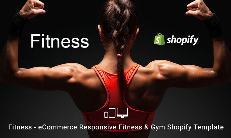 Fitness - eCommerce Responsive Fitness & Gym Shopify Template ...