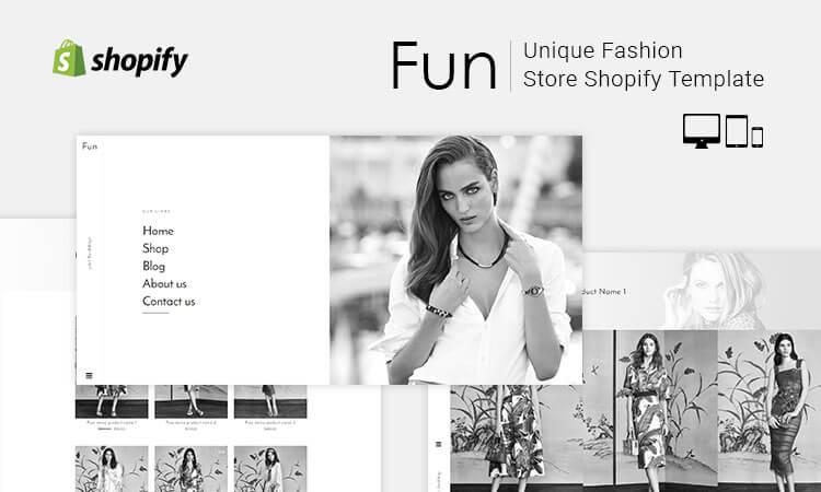 Fun unique fashion store shopify template themetidy live demo maxwellsz
