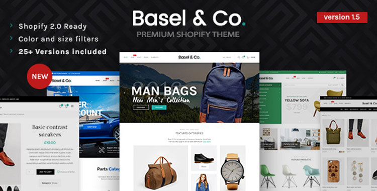 10 Best Selling Shopify Themes 2018's with Sections (drag