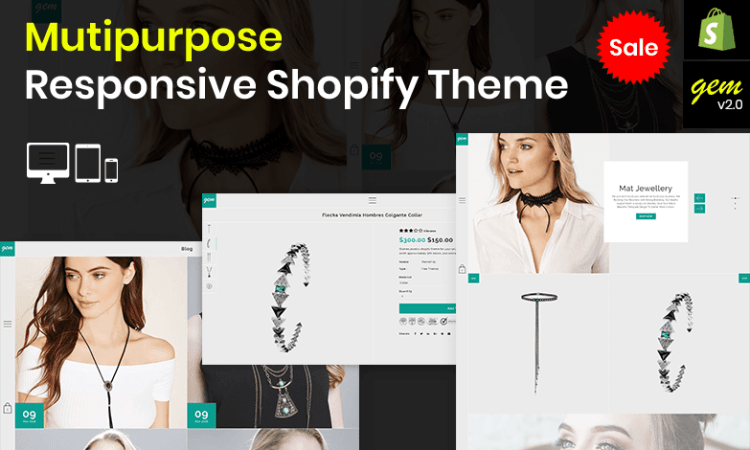 Gem – Multipurpose Responsive Shopify Theme