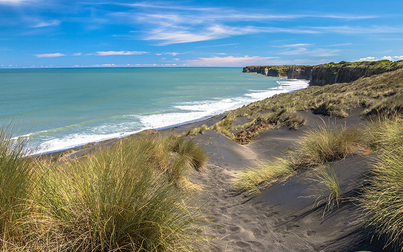 Beach in New Plymouth