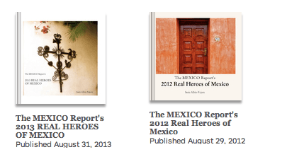 The Real Heroes of Mexico Books from The Mexico Report