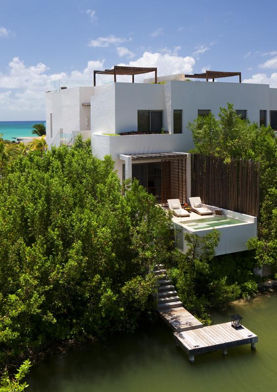 An Ocean View Suite at Rosewood Mayakoba