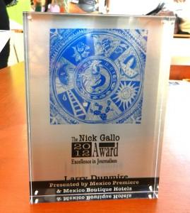 3rd Annual Nick Gallo Award
