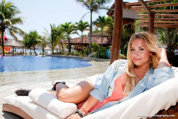 Demi Lovato at Viceroy Zihuatanejo