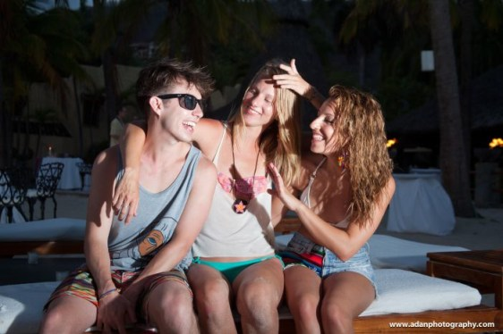 Glee Cast: Kevin McHale, Heather Morris and Vanessa Lengies at Viceroy Zihuatanejo