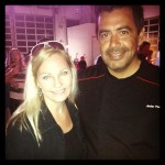 The Mexico Report 's Susie Albin-Najera with Chef Javier Plascencia