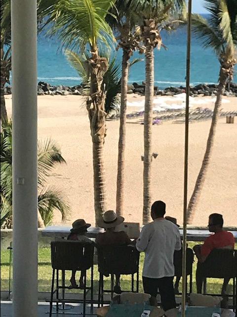 Paradisus Los Cabos beach dining