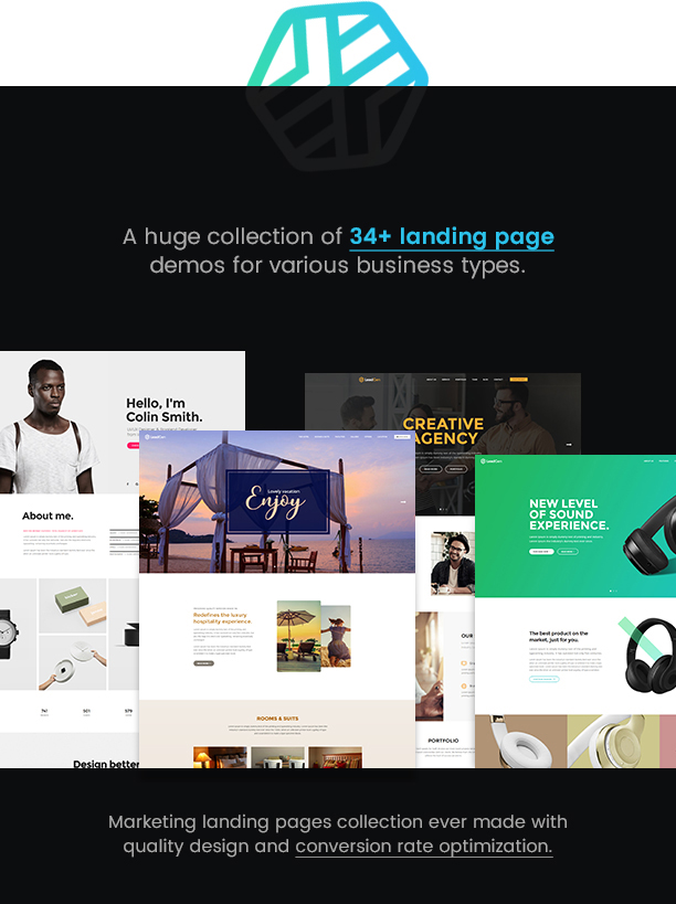 LeadGen - Multipurpose Marketing Landing Page Pack with Page Builder 6