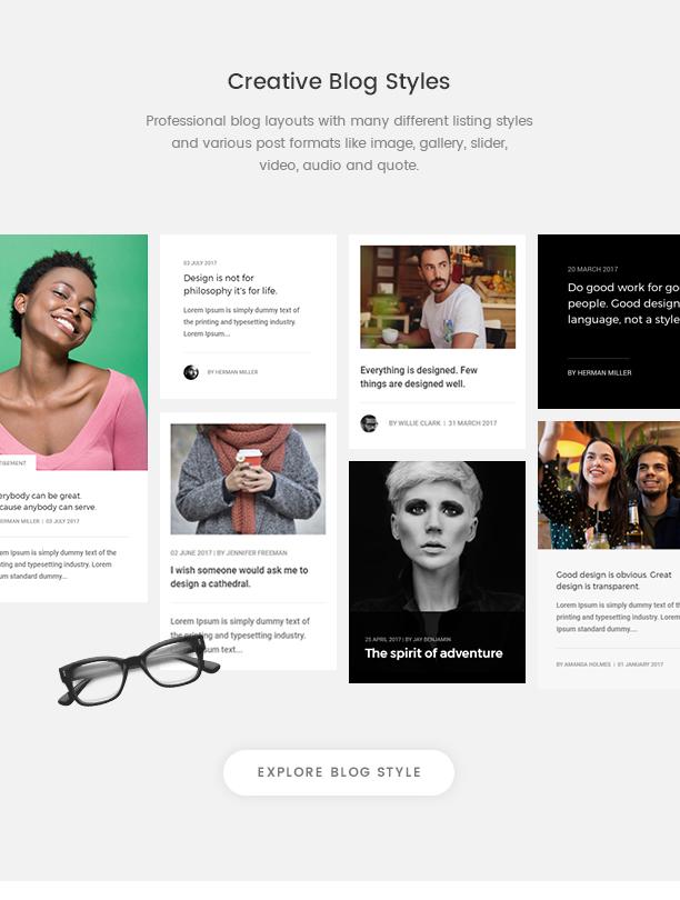 Pofo - Creative Agency, Corporate and Portfolio Multi-purpose Template - 18