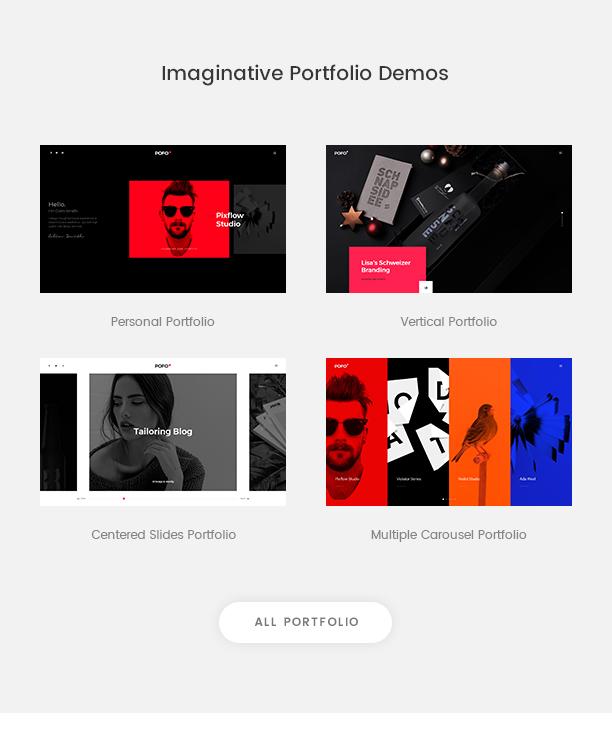 Pofo - Creative Agency, Corporate and Portfolio Multi-purpose Template - 9