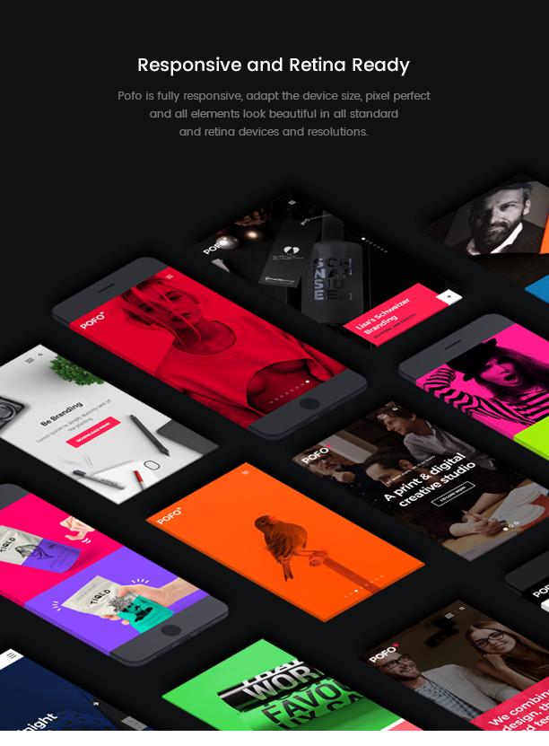 Pofo - Creative Agency, Corporate and Portfolio Multi-purpose Template - 11
