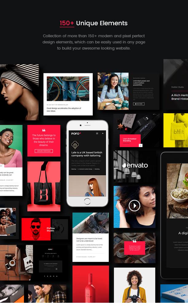 Pofo - Creative Agency, Corporate and Portfolio Multi-purpose Template - 13