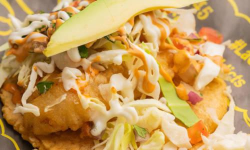 La Chuperia - The Miche Spot - Menu Fish Tacos