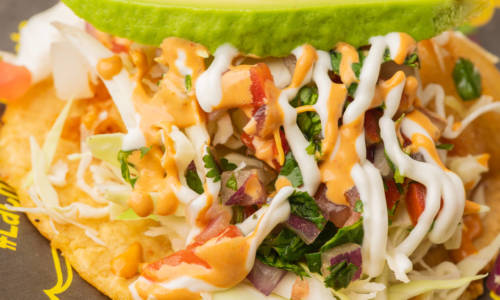 La Chuperia - The Miche Spot - Menu Shrimp Tacos