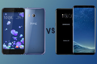 HTC U11 vs Samsung Galaxy S8