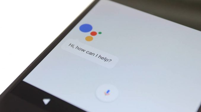 Android P Google Assistant