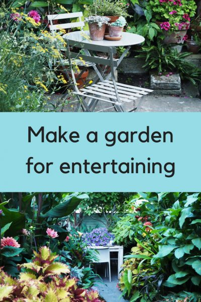 How to create a garden for entertaining