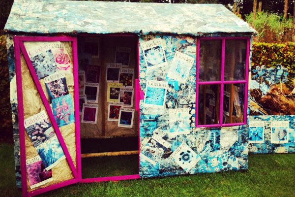 Cover your shed with...