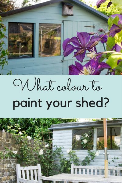 How to choose what colour to paint your shed