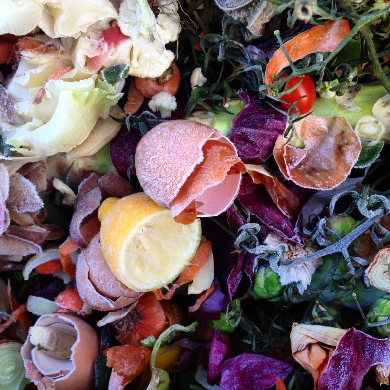 Easy home-made compost