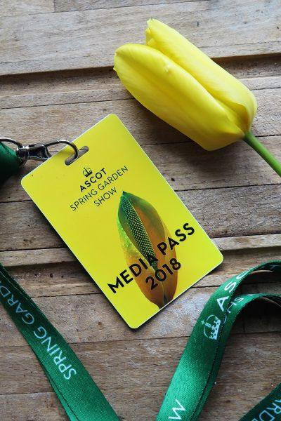 Ascot Garden Show media pass