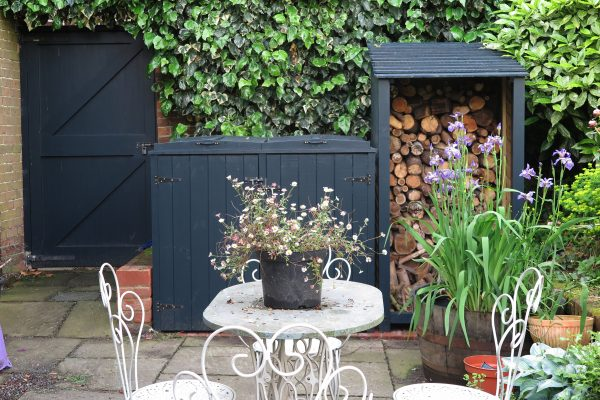 Paint your shed - and also your bin store, log store and gate!