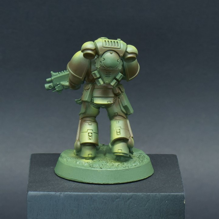 How to paint Raptors Space Marines - Step 3b