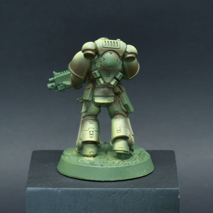 How to paint Raptors Space Marines - Step 4b