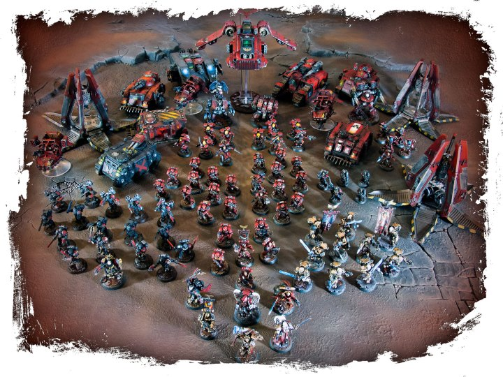 The Mighty Brush Blood Angels for Sale