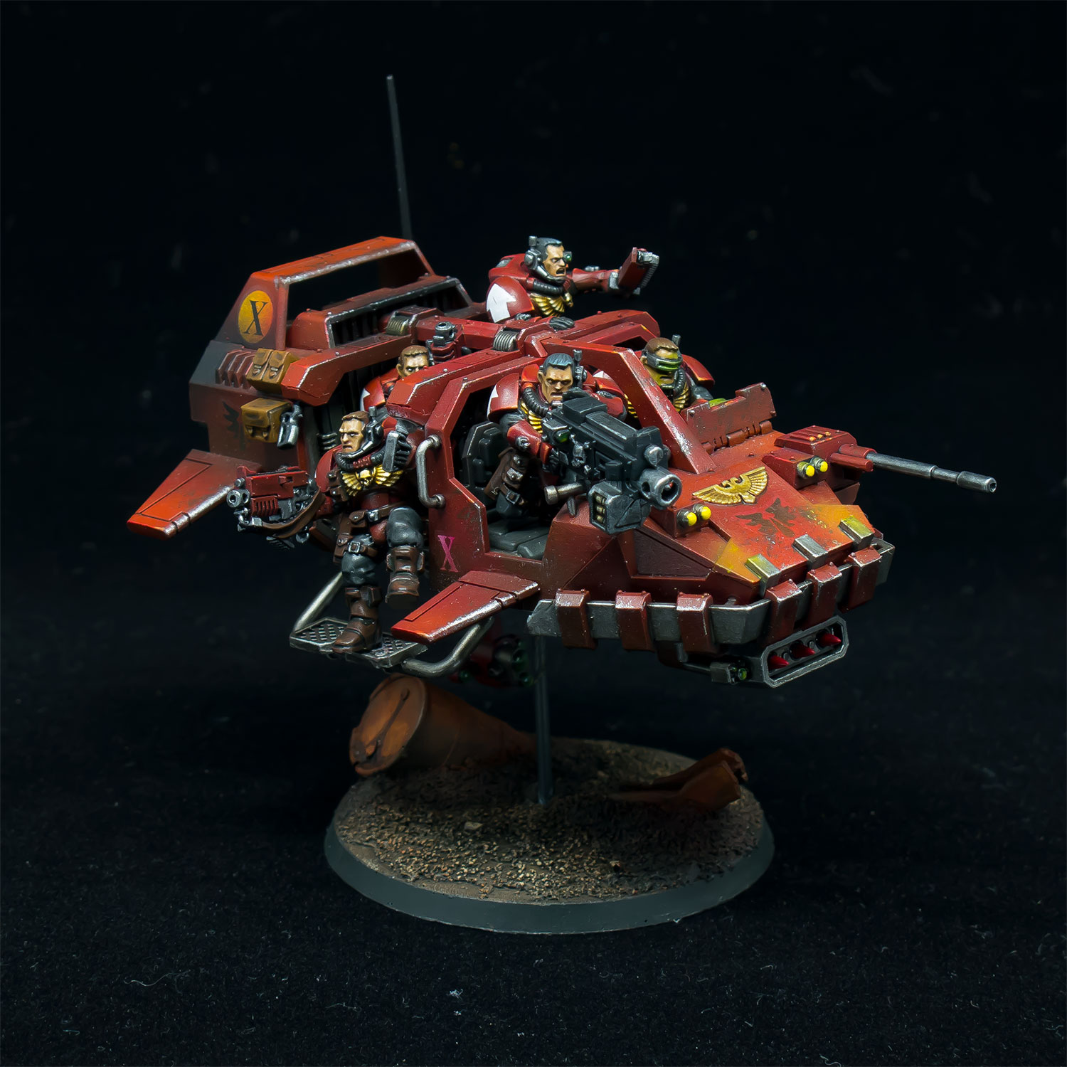 Blood Angels Land Speeder Storm