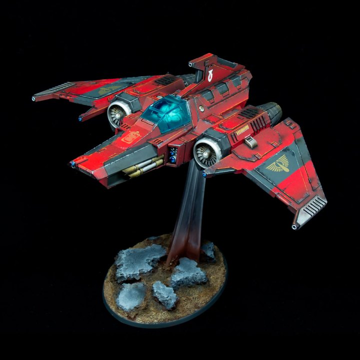 Blood Angels Xiphon Interceptor
