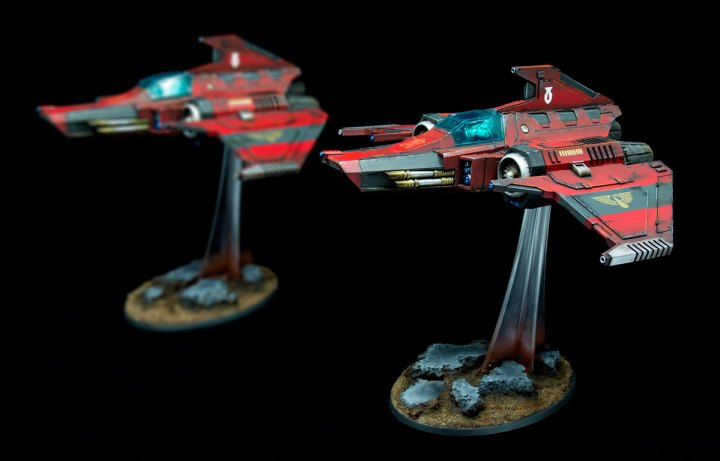 Blood Angels Xiphon Interceptors