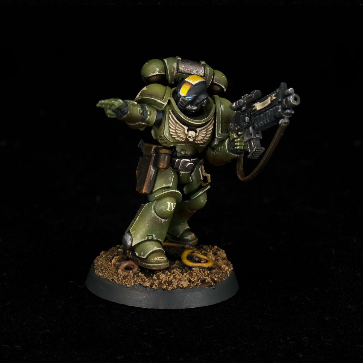 Raptors Space Marines Sergeant