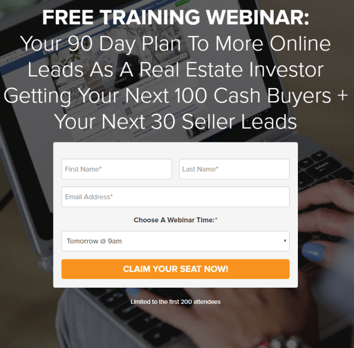 Free Real Estate Investor Live Training - Space is limited Sign Up Now