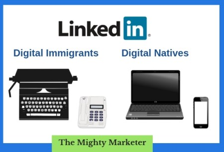 Digital immigrants and digital natives can get freelance clients on LinkedIn.