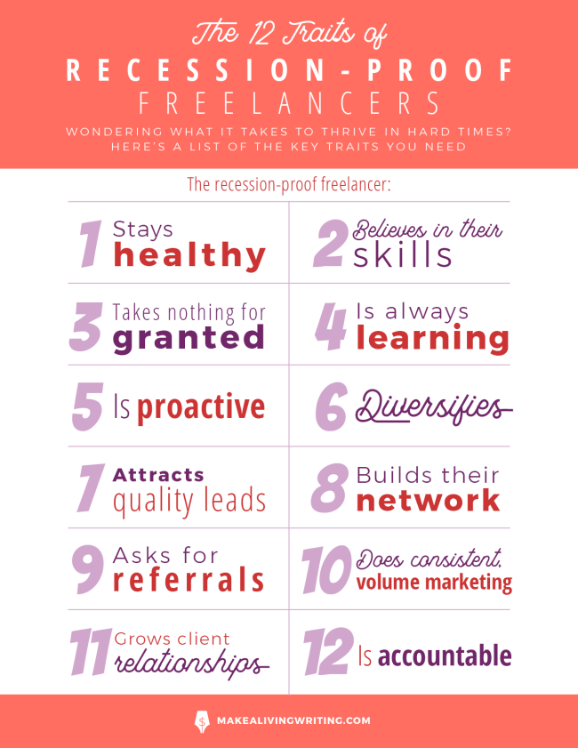 traits of recession-proof freelancer