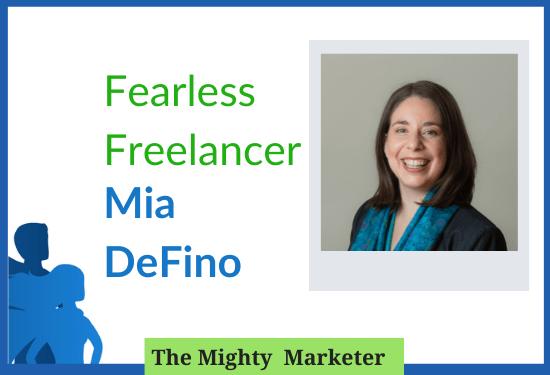 Freelancer Mia DeFino