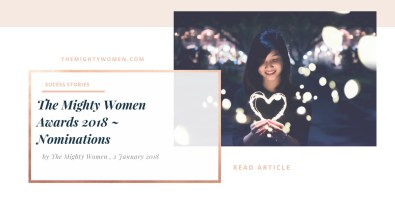 The Mighty Women awards nominations ~ The Mighty Women