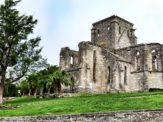 The Unfinished Church located in St. George's, Bermuda