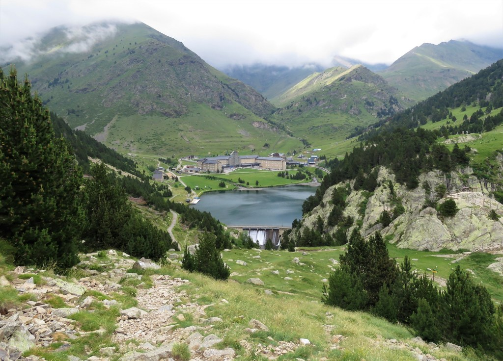 Valleys in the area of Vall de Nuria, Spain, one of the best day trips from Barcelona.