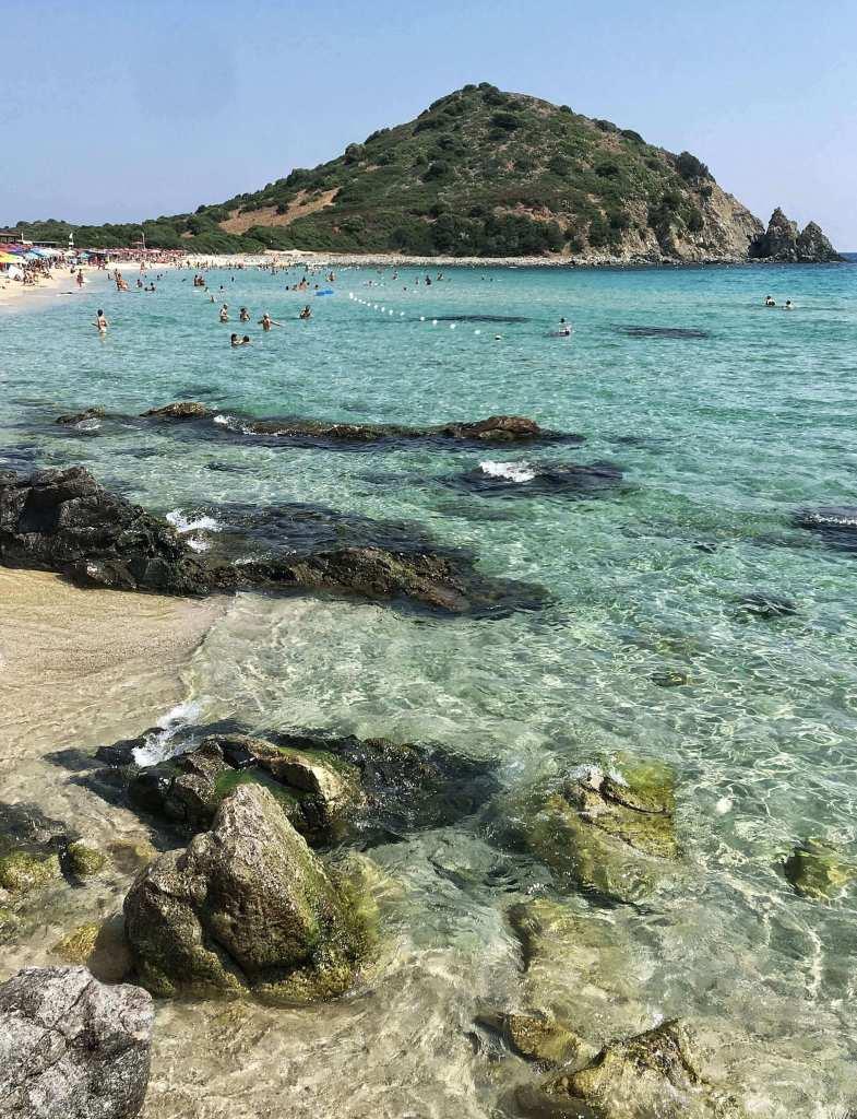 Monte Turno beach in Costa Rei, Sardinia - an underrated European beach destination.