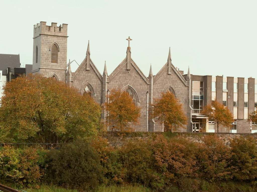 Collegiate Church of St. Nicholas in Galway City, Ireland.
