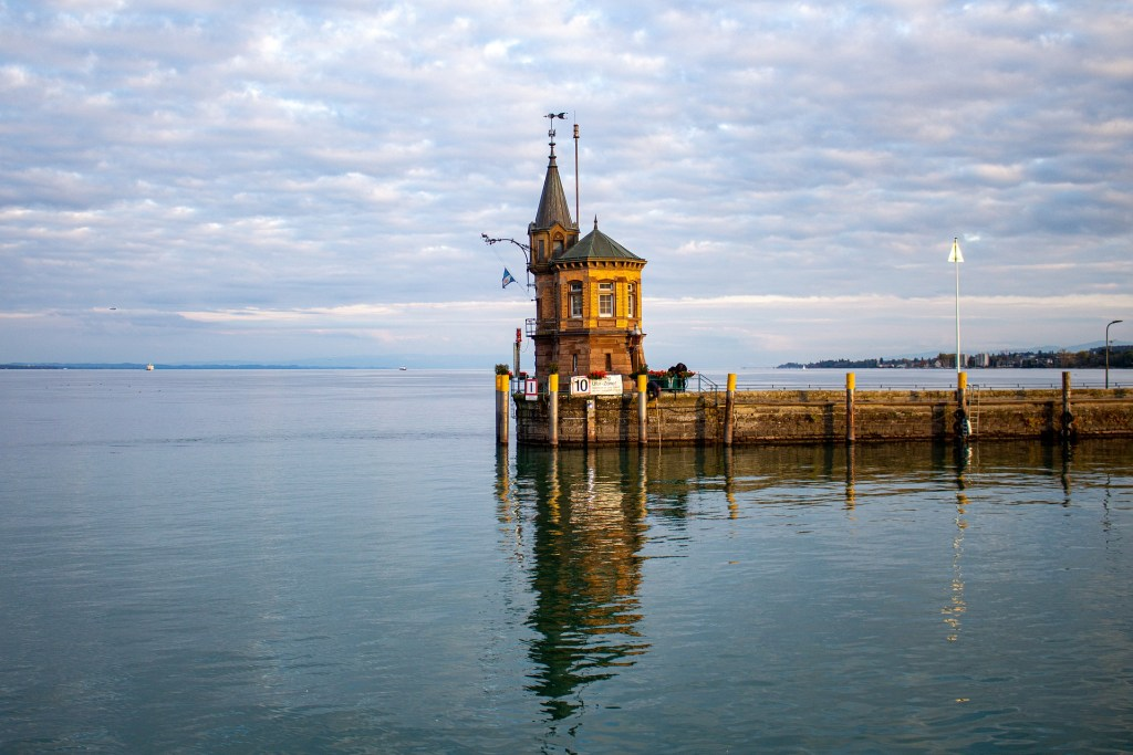 Pier on Lake Konstanz in Germany, one of the most magical places in Germany to visit.