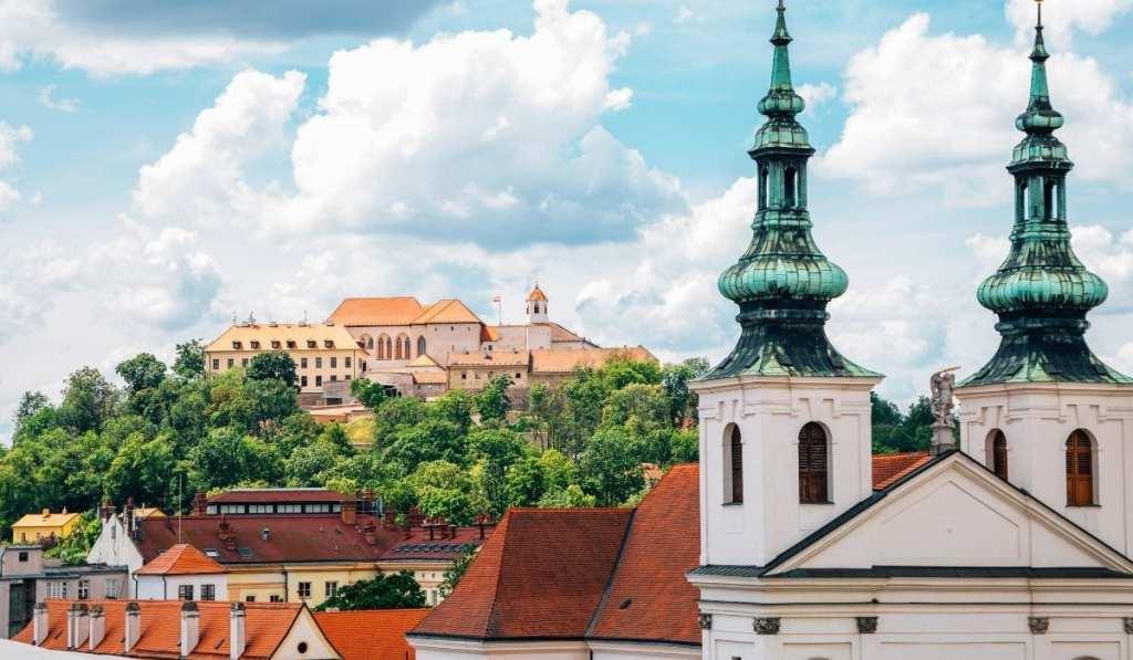 Cityscape of Brno, Czech Republic, an easy day trip from Bratislava