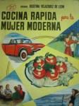 Cocina Rapida para la Mujer Moderna, by Josefina Velazquez de León