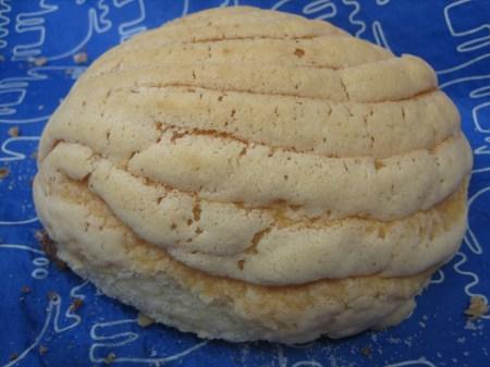 A concha from DaSilva, a bakery in Col. Polanco, Mexico City
