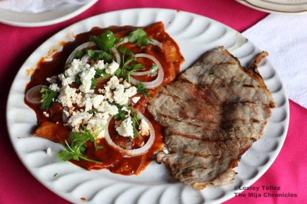 Oaxaca breakfast