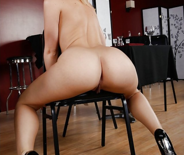 Smoking Hot Blonde Milf Takes Her Blue Lingerie Off And Fucks In Sexy Black Heels