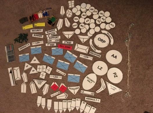 Terrain Model Kit – Military Sand Table – Arrow Anchor |Sand Table Kit Rotc Army
